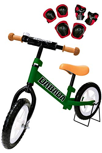 DABADA(ダバダ) ランバイク ペダルなし自転車 子供用 スタンド付き バランス 2歳~5歳 (グリーン)