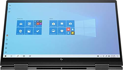 HP Envy X360 2-in-1 15.6' FHD IPS Touchscreen Premium Laptop | AMD Ryzen 7 4700U 8-Core | 32GB RAM | 1TB SSD | Backlit Keyboard | Fingerprint Reader | WiFi 6 | Windows 10 | with Woov Accessory Bundle