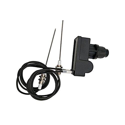MeTer Star Grillanzünder-Set, AA Batterie, zwei Ausgänge mit Zündkerzen-Draht, Länge 1 m (zwei Elektroden), CE/CSA zertifiziert.
