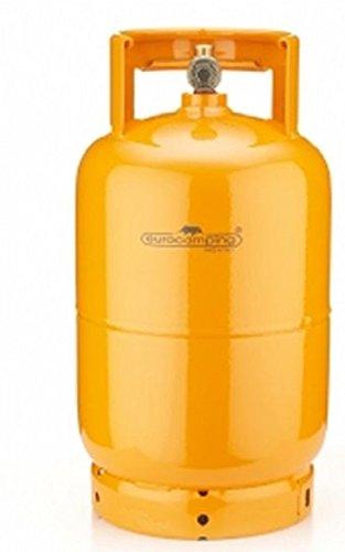 BOMBOLA 5 KG RICARICABILE DA CAMPEGGIO VUOTA CASA - CAMPEGGIO - BARBECUE Eurocamping colore Arancio