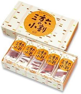 北海道の素材たっぷり 柳月 三方六の小割 5本入
