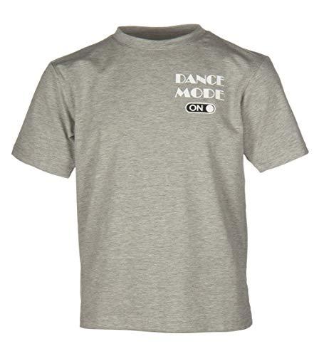 Papillon T-Shirt Kurzarm Tanzmodus auf Mädchen grau Größe 104