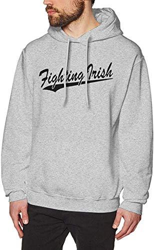 xinfub Das kämpfende irische Lange Hülsen-Pullover-Vlies-mit Kapuze Sweatshirt der Männer
