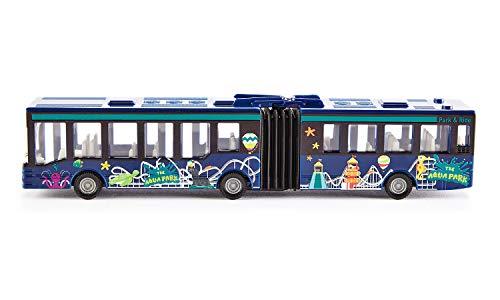 Siku 1617, Gelenkbus, Metall/Kunststoff, blau, Vielseitig einsetzbar, Spielzeugfahrzeug für Kinder