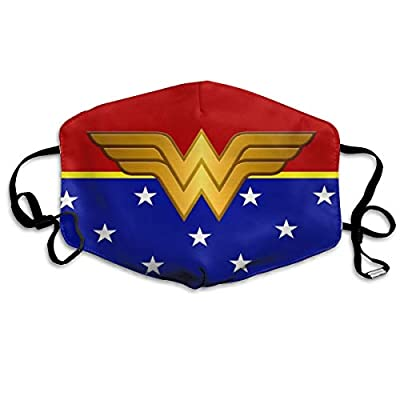 Amazon - Save 30%: Wonder-Woman Face Madk Washable Polyester Mouth Face C_over for Hallowee…