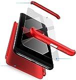 Samsung S7 Edge Coque Rouge Housse Etui pour téléphones portables 3 en 1 Très...