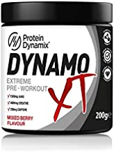 Protein Dynamix Dynamo XT Pre Workout Powder 200g Extra Strong Energy Drink Mixed Berry Estimated Price : £ 14,99