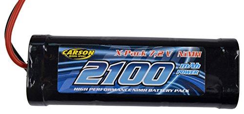 Carson 500608158 - Racing Pack, 2100 mAh, NiMH 7.2 V
