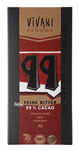 ViVANI オーガニック エキストラダークチョコレート99% 80g