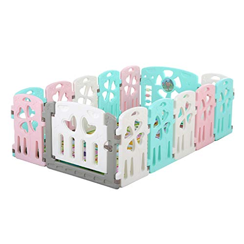 Check Out This YERWLAN Baby Play Fence, Home Children's Fence, Baby Crawling Mat Indoor Game Child S...