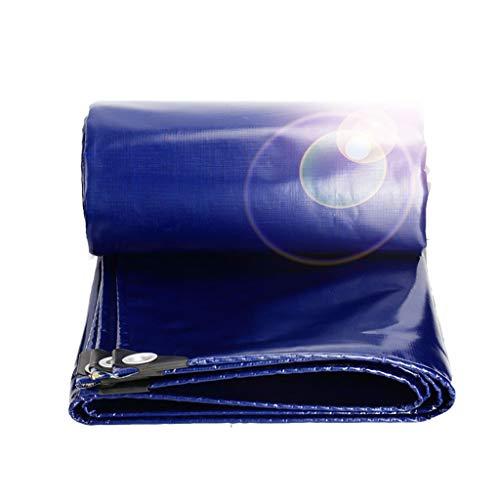 WEIJINGRIHUA Heavy Duty Lona de PVC Recubierto de Tela de Doble Cara 100% Impermeable, Anti-UV, for Coches, Barcos, Contratistas de la construcción, campistas y Shelter.550G de Emergencia/m², 0,48 mm