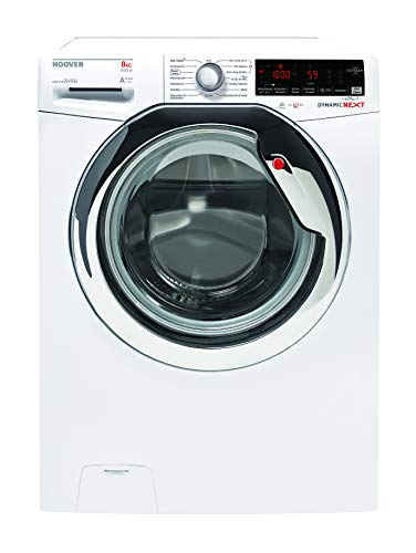 Hoover AOXD G58AHC7-84 Waschmaschine / 8 kg / 1500 U/Min/Invertermotor/Aquastop/Dampffunktion/Smarte Bedienung mit moderner NFC-Technologie