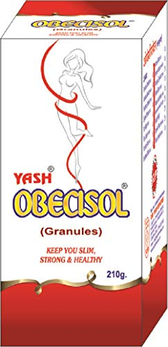 YASH OBECISOL GRANULES (210 gm); an utterly potential product consisting ayurvedic ingredients mainly imperative in obesity, weight loss & body-fat reduction