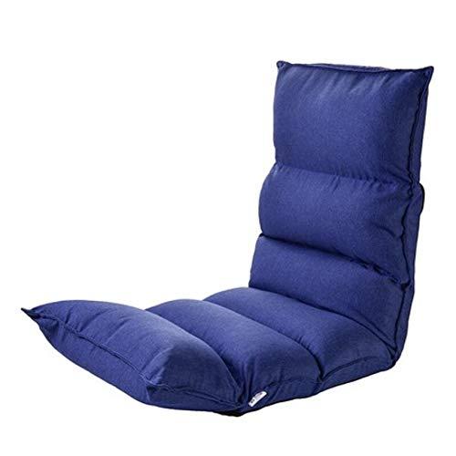 Baby GOUO@ canapé Paresseux Tatami Chaise Pliante Balcon Individuel Chambre à Coucher Petit canapé Allaitement Chaise d'allaitement Chaise Moon Chaise en Coton Respirant