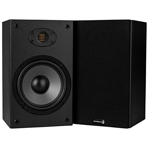 Dayton Audio B652-AIR 6-1/2' 2-Way Bookshelf Speaker with AMT Tweeter Pair