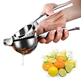 HERUIO Lemon Squeezer Manual - Heavy Duty - Manual Citrus Juicers, Press Hand Lime Citrus Fruit Juicer, Safe Quick and Effective Juicing, Super Easy to Clean
