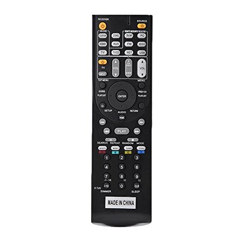 Goshyda Control Remoto RC-799M Receptor De Audio Y Video Del Controlador Universal RC-799M Para Onkyo