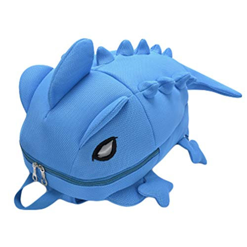 ZKOOO Children's Backpack Toddler 3D Cartoon Cute Dinosaur/Lizard Monster Kindergarten School Bag Camping Travel Bag Gifts for Boys & Girls