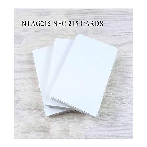 Scheda NFC/Ntag 215 (10 pezzi), utilizzata come scheda di gioco Amiibo, con una frequenza di 13,56 MHz e compatibile con tutti i telefoni cellulari NFC.