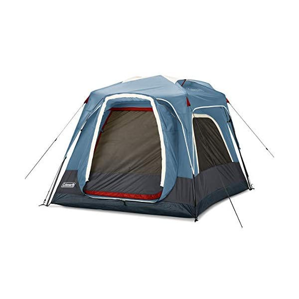 Coleman-Connectable-Tent-Connecting-Tent-System-with-Fast-Pitch-Setup-Blue