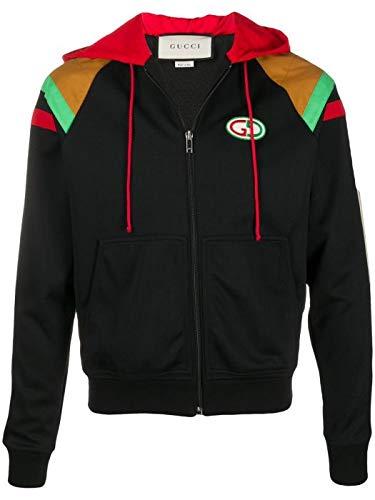 Gucci Luxury Fashion Man 598722ZADC96452 Blue Polyamide Outerwear Jacket   Spring Summer 20