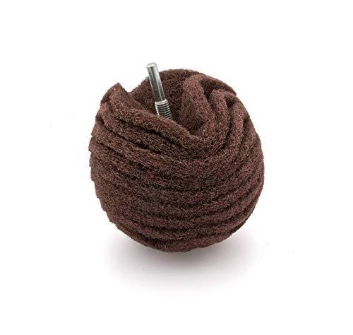 Schleifkugel aus Schleifvlies 75mm, grob Korn 80