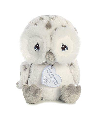 Aurora - Precious Moments - 8.5' Nigel Snowy Owl White Grey
