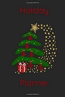 Holiday Planner: 2019 Christmas Tree