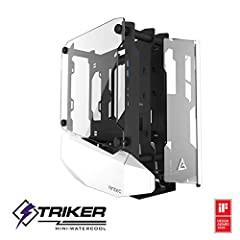 CNC Cutting Craftsmanship Composed of 4 mm tempered glass panels aluminum and steel structure Open-Frame Architecture Unique framework provides possibilities for custom water-cooling loop Front GPU Mount The most innovative case design allows you to ...