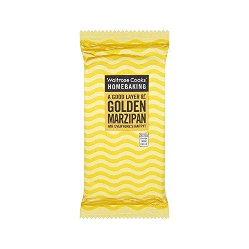 Golden Marzipan 500G Waitrose - Packung mit 2