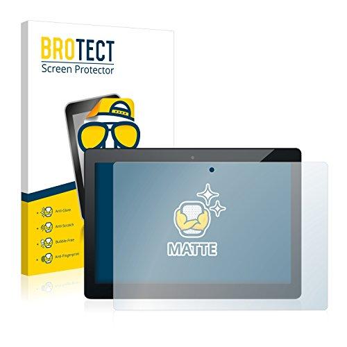 BROTECT 2X Entspiegelungs-Schutzfolie kompatibel mit Odys Winpad 10 2-in-1 Bildschirmschutz-Folie Matt, Anti-Reflex, Anti-Fingerprint
