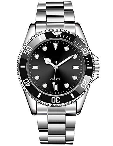 Herrenuhr wasserdichte Analoge Quarzuhr Herren Designer Edelstahl Mode Business Casual Armbanduhren für Herren