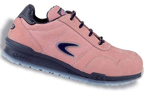 Cofra 78500-006 - Zapatos de seguridad para mujer rosa talla 38