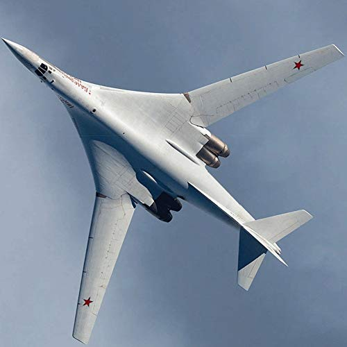 ELVVT 1: 100 Tupolev Tu-16 Black Jack Bomber Model puzzel Toy DIY 3d puzzels Handmade Model Building Kits Gifts Toy (Size : 1:100)