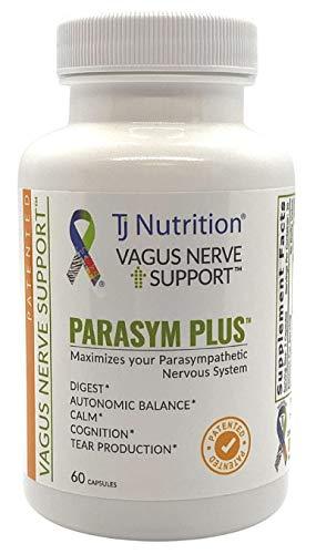 Parasym Plus - Patented Vagus Nerve Support   Digest   Autonomic Balance   Calm   Tear Production  