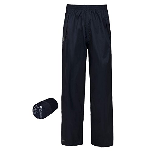 Trespass - Pantalones Impermeables para Llevar Modelo Packa Unisex Hombre Mujer (XXS) (Azul Real)