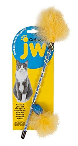 JW Jouet Cataction Feather Wand la Baguette pour Occuper Son Chat