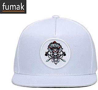 Snapback - 5 Panel White Baseball caps Sports Hats Bone Gorras Chief Original Snapback Hip hop