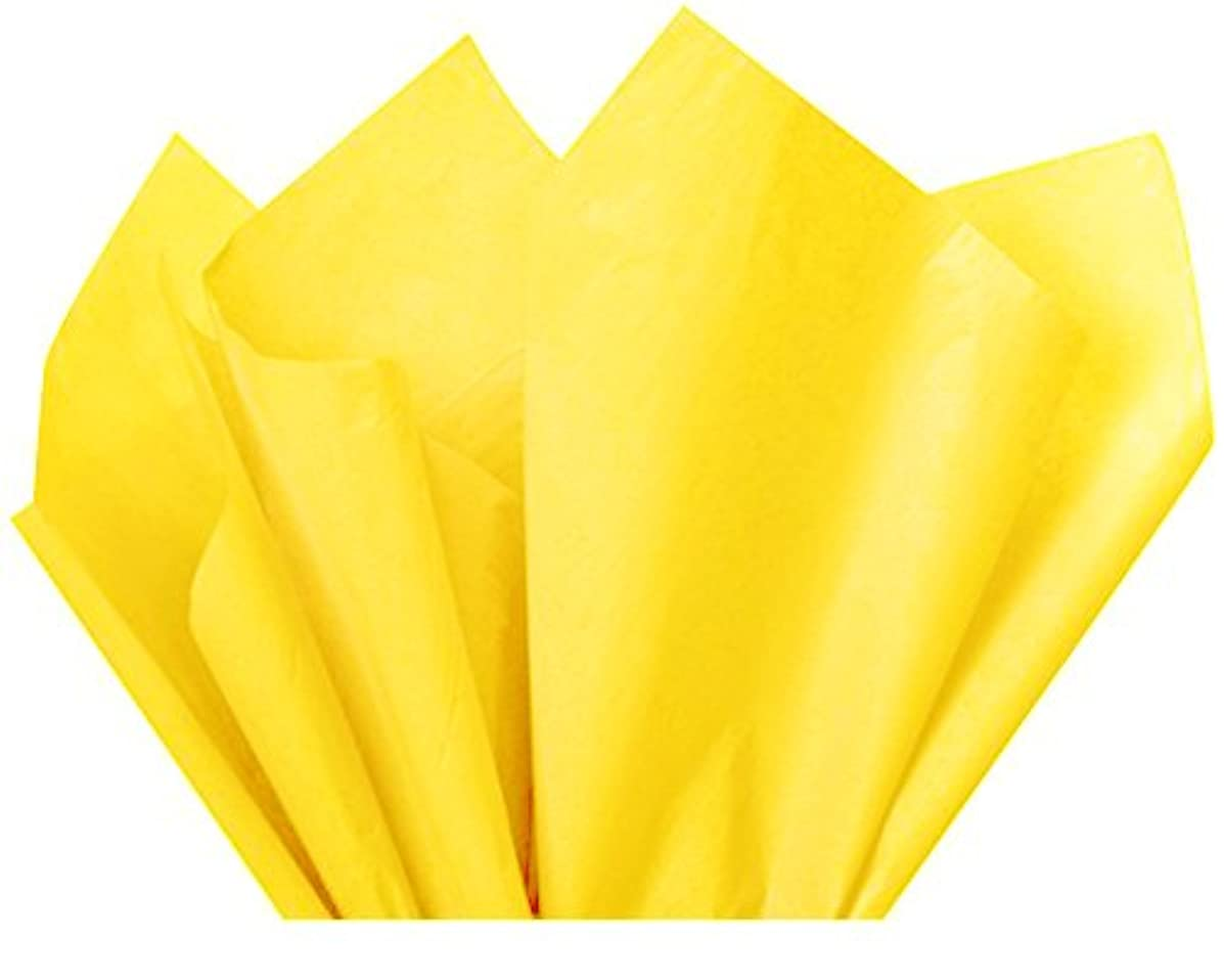 Flexicore Packging? | Gift Wrap Tissue Paper | Size: 15x20 | Acid Free (Bright Yellow, 100 Sheets)