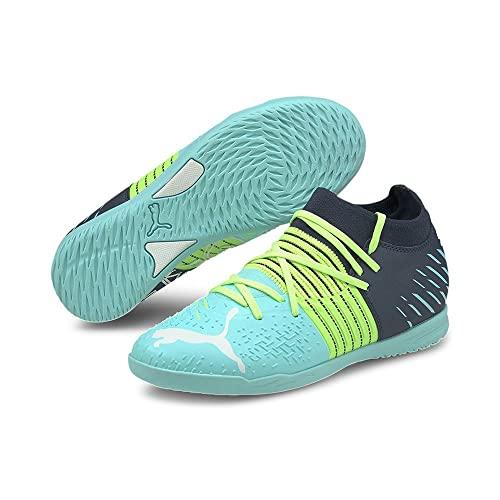 Puma Future Z 3.2 IT Jr, Zapatillas de fútbol, Green Glare-Elekt, 38 EU