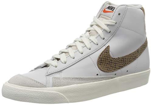 Nike Blazer Mid \'77 VNTG We Reptile, Zapatillas de básquetbol para Hombre, Vapste Grey Mtlc Red Bronze Sail, 42.5 EU