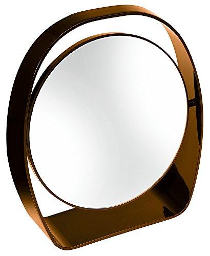 Eliplast Facile Lean Miroir grossissant, Marron