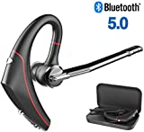 Golvery Bluetooth Headset for Cell Phone, CVC6.0 Noise Cancelling Flip-Boom Mic, Handsfree HD