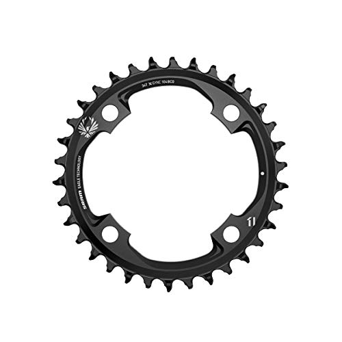 SRAM X-Sync Eagle Platos, Unisex Adulto, Negro, 104mm