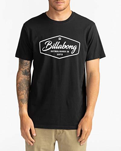BILLABONG Trademark - Maglietta da Uomo Maglietta, Uomo, Black, S