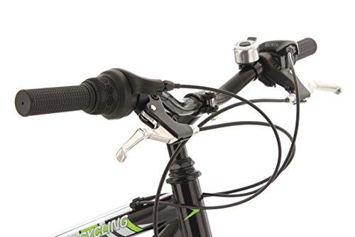 KS Cycling Fahrrad Mountainbike MTB Fully Zodiac, Schwarz/Gruen, 26 Zoll, 321M - 5