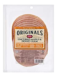 Dietz & Watson Originals Pre-Sliced No Antibiotics Ever Maple & Honey Ham, 7 oz