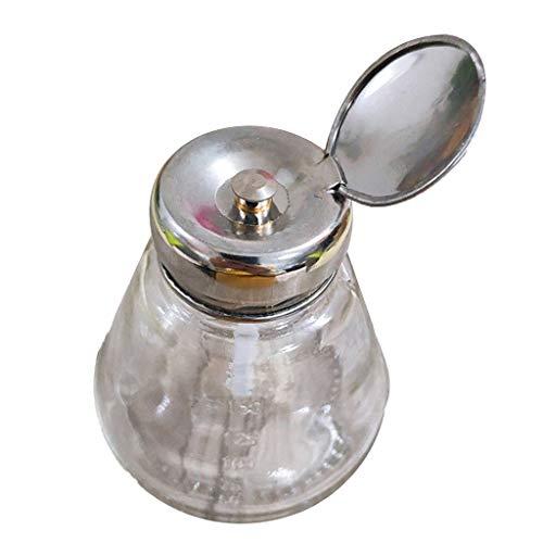 Amuzocity 150ML Flacon à Pompe en Verre Bouteille Vide Récipient pour Liquides Et Les Vernis à Ongles