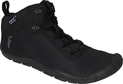 Freet - Botas de senderismo, ultraligeras, botines, negro, 48