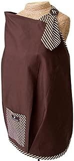 バルボアベビー 授乳カバー USA最高ランクの授乳ケープ (ナーシングカバー) 大きなポケット付き / ブラウン